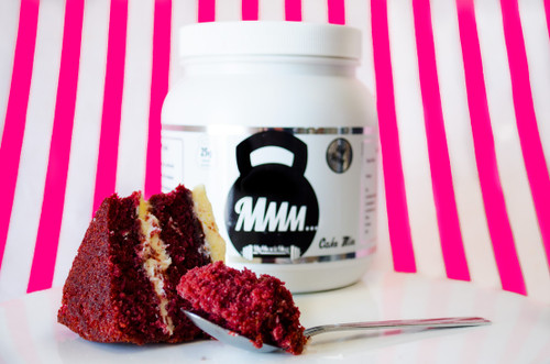 My Muscle Mug - Protein Cake Mix Red Velvet Cake Flavour #NEW #FEAT
