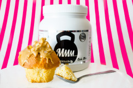 My Muscle Mug Protein Cake Mix - 500g Tub Peanut Butter #NEW #FEAT
