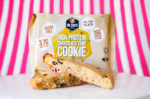 Dr Zaks High Protein Cookie - Chocolate Chip Flavour #NEW #FEAT