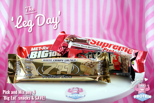 The 'Leg Day' Mix - Choose any 4 goodies from our 'Big Eat' protein snack collection!