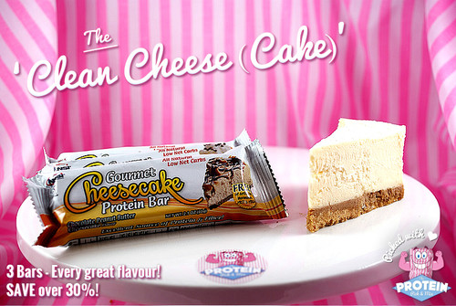The 'Clean Cheese(Cake)' Mix - 3 Bars & every flavour of the low-carb Cheesecake bars.