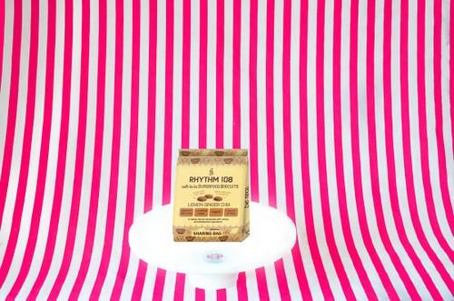 Rhythm 108 Ooh-La-La Tea Biscuits Sharing Bag - Lemon Ginger Chia #NEW #FEAT