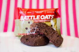 Battle Oats Protein Cookie - Double Chocolate #NEW #FEAT