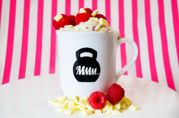 White Chocolate Raspberry My Muscle Mug #NEW #FEAT