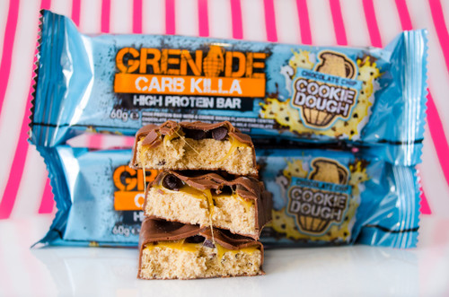 Grenade Chocolate Chip Cookie Dough Carb Killa!