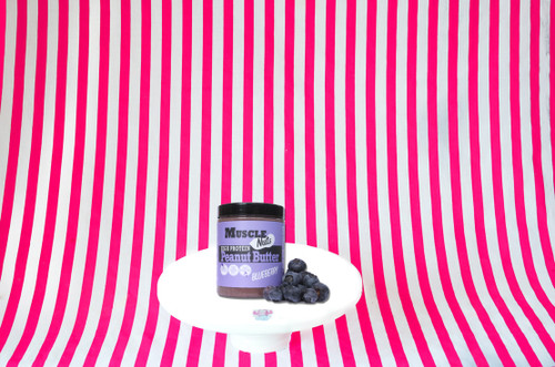 Muscle Nuts High Protein Blueberry Peanut Butter - 300g #NEW #FEAT