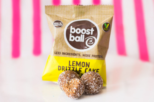 Boost Ball - Lemon Drizzle Cake Protein Balls #NEW #FEAT