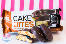 Optimum Nutrition Protein Cake Bites - Chocolate Frosted Donut
