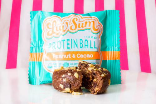 Luv Sum Protein Ball - Peanut & Cocoa