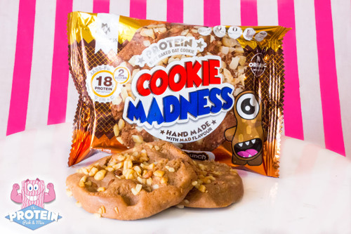 Cookie Madness Peanut Crunch Flavour