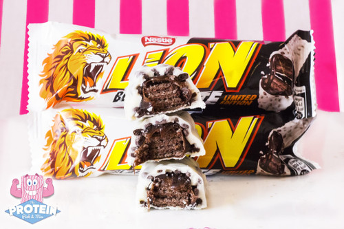 Limited Edition Black & White Lion Bar