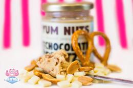 Yum Nuts White Chocolate Pretzel Peanut Butter
