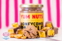 Yum Nuts Peanut Butter - Honeycomb Ruffle