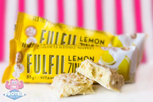 Fulfil Vitamin & Protein Bar 60g - Lemon Zinger