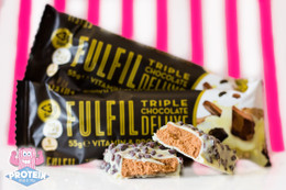 Fulfil Vitamin & Protein Bar - Triple Chocolate Deluxe