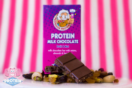 Professor Protein - High Protein Chocolate - Fruit & Nut Milk Chocolate