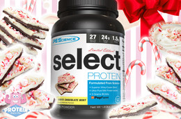 PES Select Protein - Limited Edition White Chocolate Mint (27 servings)