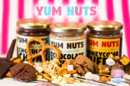 The 'Yum Yum, Yum Nuts' Butter 3-tub bundle