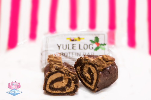 Swolesome 'Conscious Homies' - Yule Log (Whey) Protein Bar