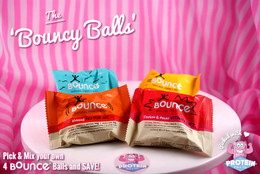 The 'Bouncy Balls' Mix - 4 All Natural Bounce Balls for a great price! #FEAT