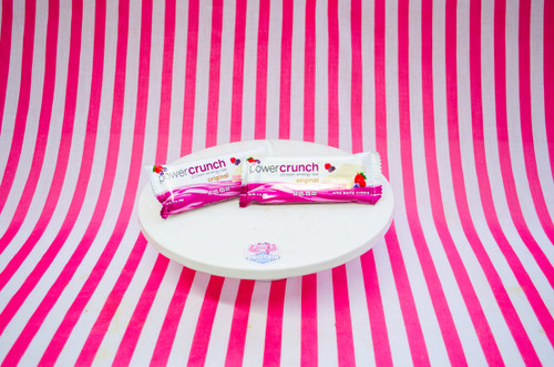 BNRG Power Crunch Protein Energy Bar - Wild Berry Creme #FEAT