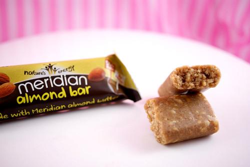 Meridian Almond Butter Bars - Almond's inside!