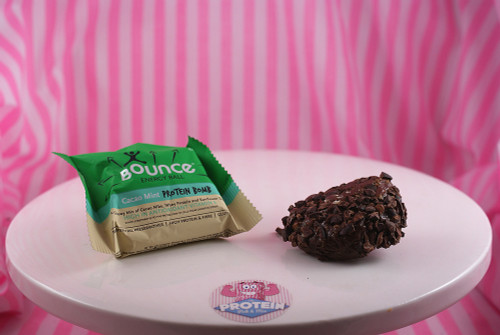 Bounce Cacao Mint Protein Ball - Super Crunchy and minty!