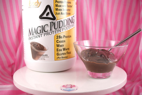 Body Nutrition Instant Chocolate Magic Pudding - Low-carb, low-fat, 28g of protein!