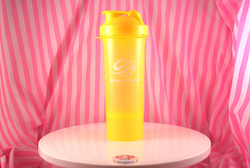 SmartShake Slim Series Shaker. Neon Yellow.