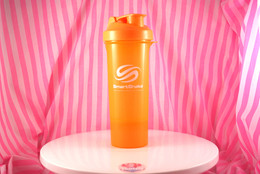 SmartShake Slim Series Shaker. Neon Orange.