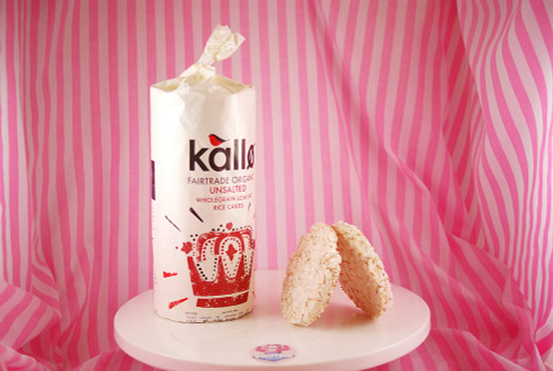 Kallo - Organic Unsalted Rice Cakes (only 28kcals a rice cake!)