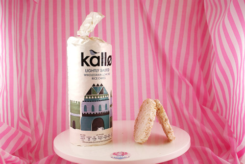 Kallo - Organic Slightly Salted Rice Cakes (only 29kcals a rice cake!)