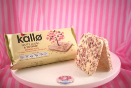 Kallo - Fruity Muesli & Yoghurt Breakfast Rice Cake Thins (only 66kcals a thin!)