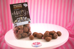 Happy People - Organic Dark Chocolate Almonds with Coconut