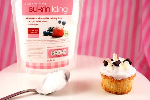 Sukrin Zero Calorie, Zero GI Icing for protein cakes and bakes!