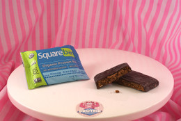 Squarebar Organic Protein Bar - Cocoa Coconut. Vegan, Soy-Free and Gluten-Free!