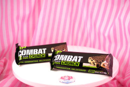 NEW Muscle Pharm Combat Crunch Bar - Chocolate Chip Cookie Dough UK