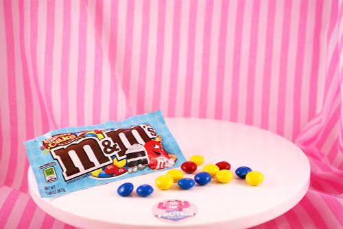 M&M's - Birthday Cake flavour. Doesn't get more fun that this!