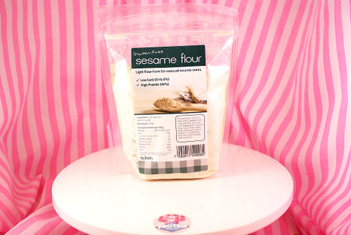 Sukrin Fat-reduced Sesame Flour - a great, high protein substitute for flour in baking
