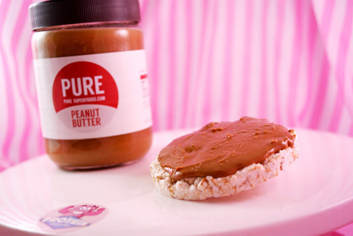 Pure Superfoods - Natural Roasted Peanut Butter. Smooth, Crunchy and PEANUTTY!