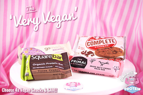 The 'Very Vegan' Mix! New for 2015, choose any 4 vegan snacks in the Mix and SAVE! #NEW #FEAT