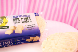 Nature's Store Belgian White Chocolate Rice Cakes #NEW #FAVE