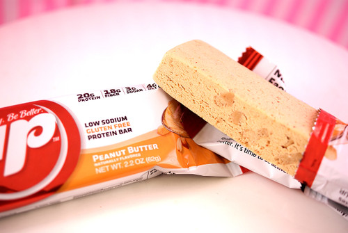 The Peanut Butter B-Up bar has arrived...bringing CHUNKS!!