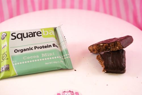 Squarebar Organic Protein Bar - NEW Cocoa Mint.