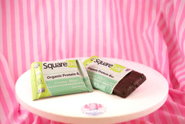 Squarebar Organic Protein Bar - Cocoa Mint. Vegan, Soy-Free and Gluten-Free! #NEW