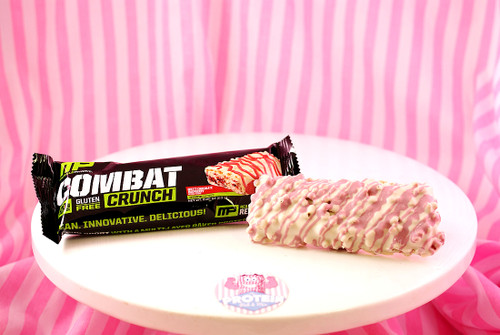 MusclePharm White Chocolate Raspberry Protein Bar - Available in the UK now!