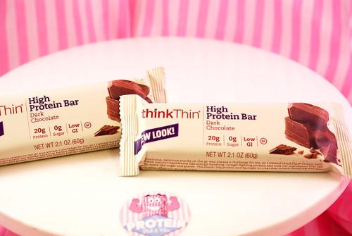 thinkThin Gluten Free High Protein Bar - Dark Chocolate #NEW