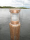 copper nautical piling light