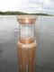copper nautical piling light