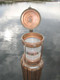 copper nautical dock light
